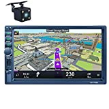 LSLYA LSLYA Bluetooth Car Radio, Auto Radio Dual 2 Din Car Stereo Screen
