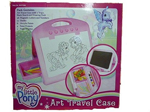 Hasbro My Little Pony Maltafel Magnettafel Tafel im Koffer Kinderland (My Pony-koffer Little)