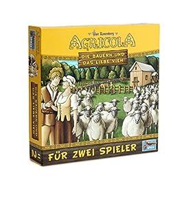 Lookout Games 22160050-Agricola-Los Campesinos y el Amor Ganado, de 2Jugadores de Parte de Uwe Rose Montaña
