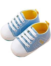 f50293db0584f Vovotrade Primer Paso Bebé recién Nacido Bebita Niño Niña Cuna Zapatos Suela  Blanda Antideslizante Zapatillas Bandage