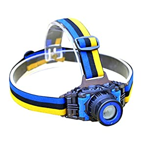 51TeCP%2BW 8L. SS300  - YURROAD CREE Q5 LED Head Torch, Small Kids Headlamp (Included Built-in Battery,USB Charger)