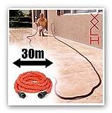 Forty4 Original XXL HOSE® Flexi Schlauch Wasserschlauch Wunderschlauch Gartenschlauch Flexibler Schlauch Zauber Schlauch 30 Meter