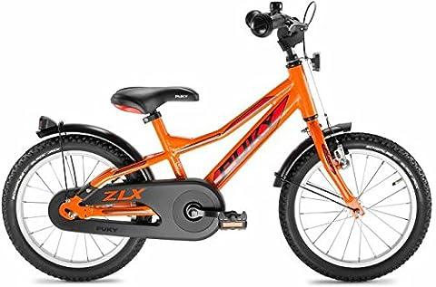 """Puky ZLX 16 Alu 16""""Ki. ATB, orange"""