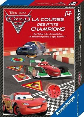 Ravensburger - A1502361 - Jeu De Société - Course Petits Champions - Cars