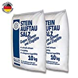 piedra Metrac Sal 20kg Medio de deshielo sal para nieve invierno Hielo Frost Premium