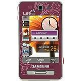 Samsung SGH-F480 Smartphone (Touchscreen, 5MP Kamera, UMTS, HSDPA) Scarlet Red La Fleur Edition