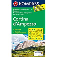 CORTINA D'AMPEZZO 55  1/50.000