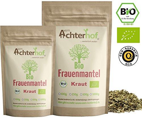 Frauenmanteltee Bio (250g) Frauenmantel-Kraut Tee   Schadstoffkontrolliert   aus kontrolliert biologischen Anbau   vom Achterhof