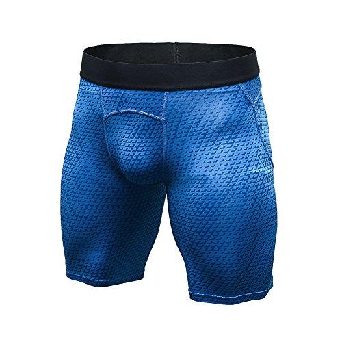 Bmeigo Herren Elastic Breathable Quick Dry Laufhosen Fitness Short Hose Shorts (Shorts Quick Dry)