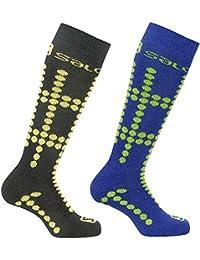 Salomon calcetines de esquí infantiles 2-Pack