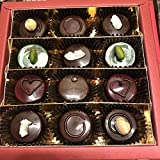 Eat to Fit Sweet Mix Pralinen- zuckerfreie Schokoladen - Box12er - Ohne Zucker - diabetiker Schokolade