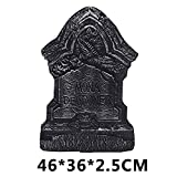 Decorazione di Halloween Tombstone Haunted House Bar Set Bubble Tombstone Decoration Grave Placard Photography Props M36