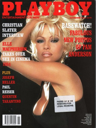 Playboy Magazine November 1994 Pam Anderson/Elle MaCpherson [Paperback] by Pl...