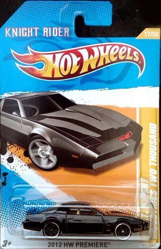 Hot Wheels 2012 K.I.T.T. Knight Rider Industries Two Thousand Die-Cast Collectible. by Hot Wheels