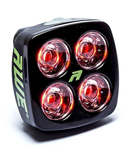 AWE® AWEBlitz™ 4 LED's USB Wiederaufladbare Hinteres Licht 40 Lumen (Grün-pumpen Helle)