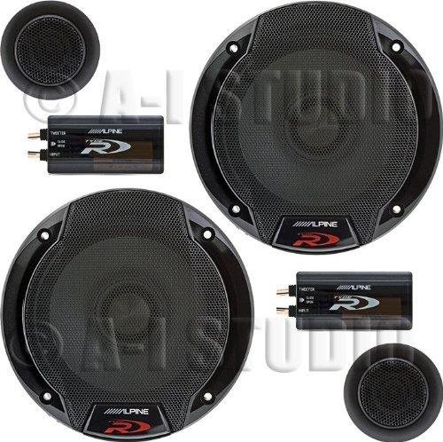 """Alpine SPR-60C 6.5"""" Car Audio Component System (Pair)"""