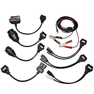 Navplus Voiture Câble Kit PKW Câble Set OBD Diagnostique Adaptateur pour Autocom Delphi CDP + DS150E