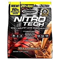 MuscleTech Nitrotech Perf Milk Chocolate, 10 lbs.