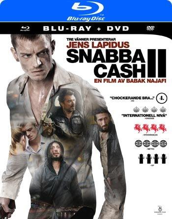 BLU RAY + DVD KOMBINATION SCHWEDISCH : Snabba Cash II 2 (Jens Lapidus)