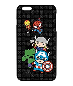 Block Print Company Kawaii Art Marvel Comics Phone Cover for iPhone 6 Plus