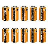 Aksans(TM) - Juego de 10baterías Duracell Industrial tamaño C MN1400LR14, baterías alcalinas,...