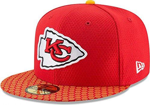 New Era 59Fifty Cap - NFL SIDELINE 2017 Kansas City Chiefs , Gr.7 3/8 (Chiefs-nfl)