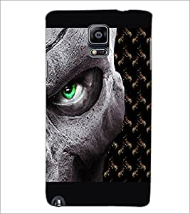 PrintDhaba Devil'a Eye D-2669 Back Case Cover for SAMSUNG GALAXY NOTE 3 (Multi-Coloured)