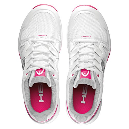 HEAD Nitro Team Women, Chaussures de Tennis Femme ROSE BLANC
