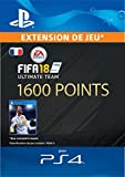 FIFA 18 Ultimate Team - 1600 Points FIFA | Code Jeu PS4 - Compte français