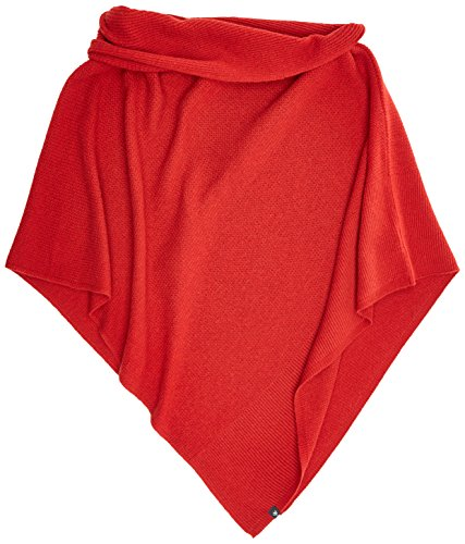 Schulter Cape (Marc O'Polo Damen Schal 707823593019, Rot (Rowan Berry 366), One Size)