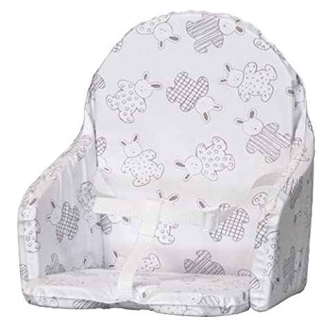 Coussin Chaise Bebe - Bambisol Coussin de Chaise avec Sangle Lapin