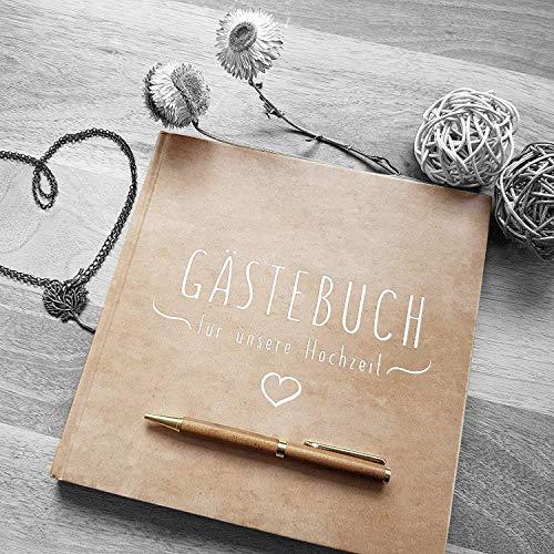 Blanko Hardcover Gästebuch - 2