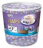 Milka Naps Alpenmilch Chocolate Bars, 1000g by Milka