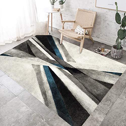 Tienda completa nórdica geométrica 60 * 90 cm YJL-019,Tapete Redondo Felpudos Alfombra Estera de Felpa...