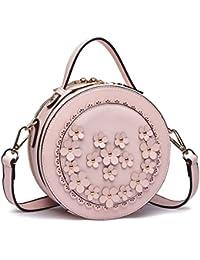 02b6265af2ebd Longsun Miss Lulu Umhängetasche Damen Blumen Handtaschen Clutches Crossbody  Schultertasche…