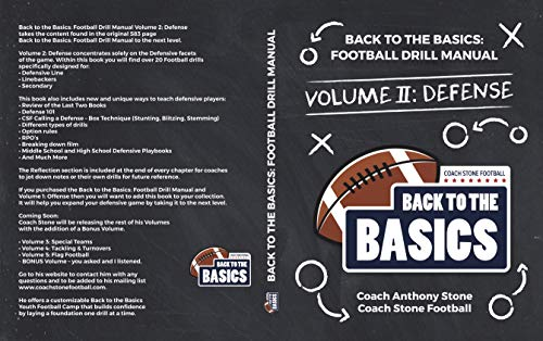 Back to the Basics: Football Drill Manual Volume 2: Defense (English Edition) por Anthony Stone
