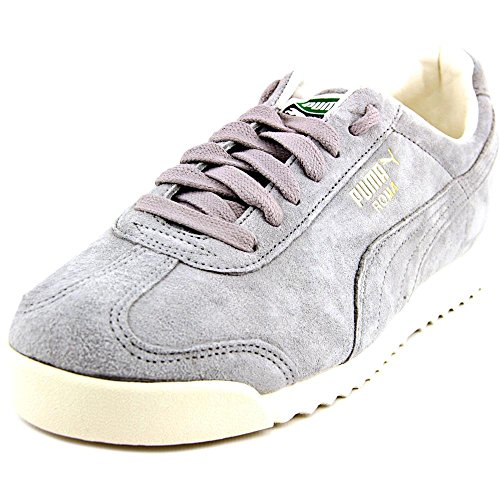 Puma Roma Distressed Cuir Baskets Drizzle-Whisper White