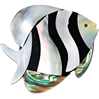 Cosanter Spilla da Donna Distintivo di Vestiti di Forma di Pesce Piccolo Carino Clip Sciarpa Scialle
