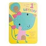 Hallmark Geburtstagskarte zum 1. Geburtstag