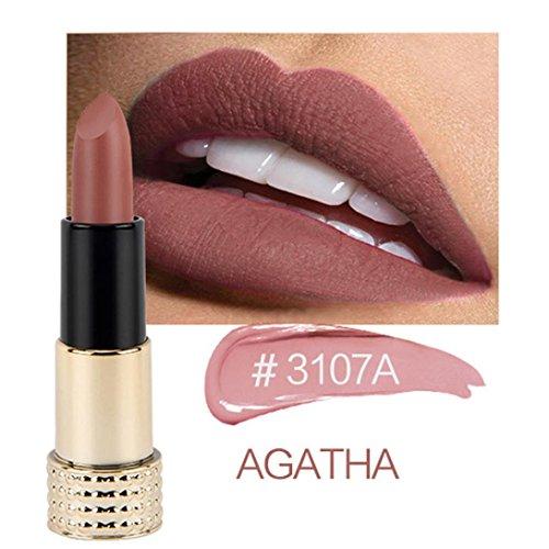 Beauty Top 12 Colores Mate Brillo De Labios Maquillaje
