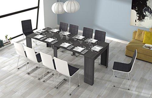 Tavolo Consolle Allungabile Fino A 235 Cm.Esidra Tavolo Allungabile Consolle Legno 235 Cm 4 Allunghe 90 X