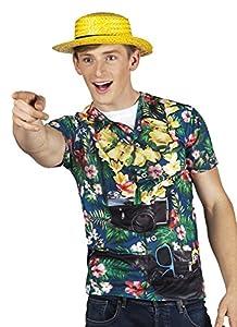 Boland 84266photorealis tisches Camiseta Tourist, Mens, M
