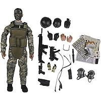 Puppen & Zubehör Beliebte Puppe militärische Kleidung Camouflage Uniform für 12 Soldat Kleidung & Accessoires