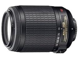 Nikon AF-S DX Zoom-Nikkor 55-200mm 1:4-5,6 G IF-ED VR Objektiv (52mm Filtergewinde, bildstab.) schwarz