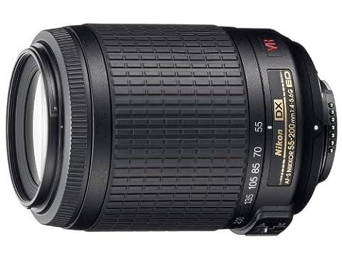 Nikon Téléobjectif Stabilisé AF-S DX VR 55-200 mm f/4-5.6 G
