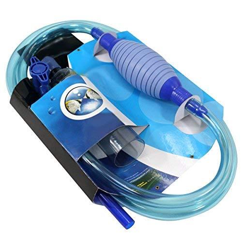 Aquarium Reiniger, Siphon und Reiniger für Aquarium und Fischtank Wasserwechsler Wasserfilter syphon gravel cleaner