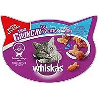Whiskas Trio Crunchy Treats Friandise Saveur de la Mer pour Chat 8 x 55 g