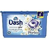 Dash 2en1 Perles Lessive en Capsules Fleurs De Lotus & Lys 38Lavages