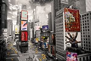 Maxi Poster featuring the Iconic Borough of Manhattan in New York City, Birds Eye Photography 61x91.5cm