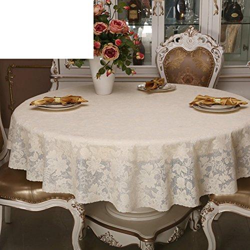 Pvc tischdecke Spitzen sie tischdecke Wasserdichte tuch european round table Wasserdicht tischdecke-A 132x177cm(52x70inch) (52 X 70 Tischdecke)